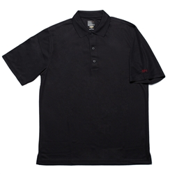 Greg Norman Black Polo