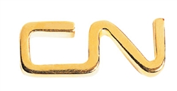 Magnetic Lapel Pin - CN logo