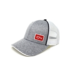 CN - Heather gray structured cap